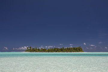 Turquoise paradijs van Erwin Blekkenhorst