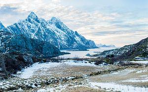 Ongelofelijke landschappen van de Lofoten van
