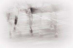 Marathon hardlopen van