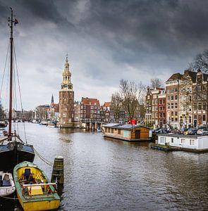 Montelbaanstoren in Amsterdam van