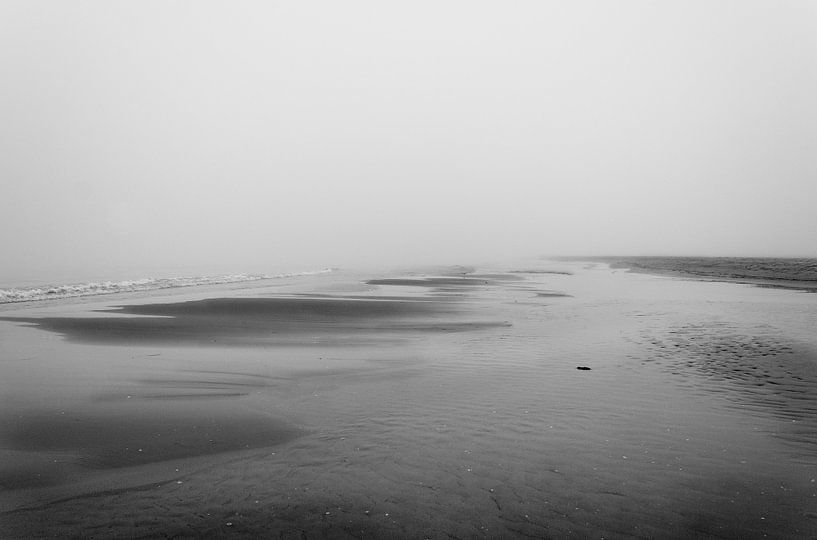 Foggy morning van Herbert Seiffert