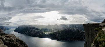 Preikestolen Norwegen von Marloes van Pareren