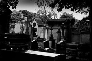 Begraafplaats Pere Lachaise in Parijs van Peter Hofwegen