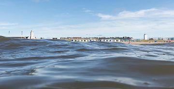 katwijk vanuit zee sur Arjan van Duijvenboden