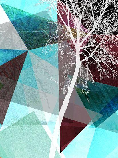 LONELY TREE III van Pia Schneider
