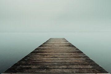 Nebel über dem Sempacher See von Stefan Heesch