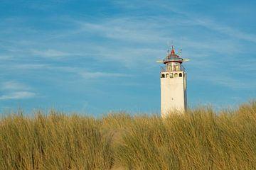 Vuurtoren van Noordwijk van Marcel van den Bos