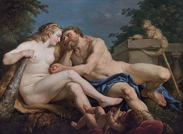 Herkules und Omphale, Lagrenée l'aîné von Atelier Liesjes