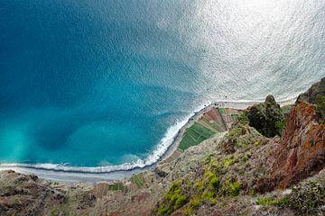 Uitkijktpunt Cabo Girão op Madeira (Cabo Girao) van Melissa Peltenburg
