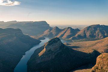 Le paysage du canyon de Blyde River sur Luuk Molenschot
