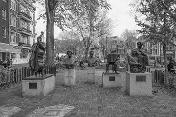 Volkzangers vereeuwigd van Foto Amsterdam / Peter Bartelings