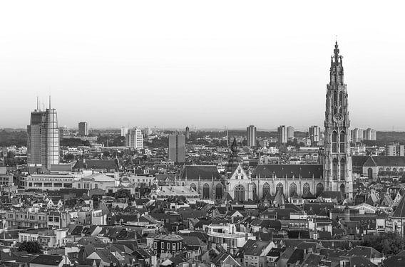 Het stadsgezicht van Antwerpen van MS Fotografie