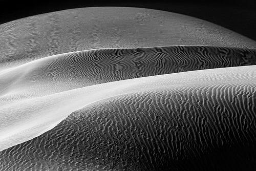Abstract beeld van een zandduin