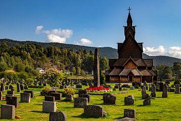 Stabkirche von Heddal, Norwegen von Adelheid Smitt