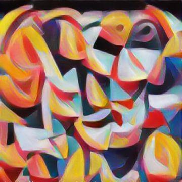 Abstract Inspiratie XXI van Maurice Dawson