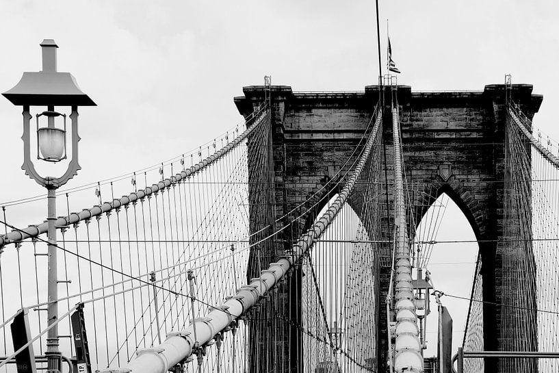 new york city ... brooklyn bridge & lantern van Meleah Fotografie