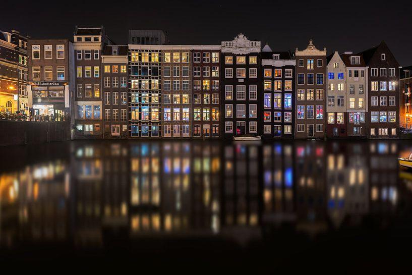 Lichtjes aan de Amsterdamse grachten van iPics Photography
