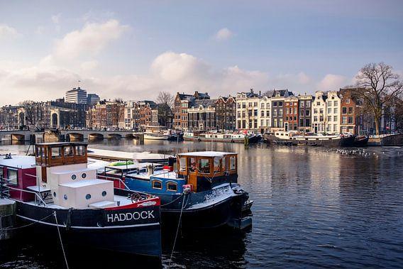 """""""Haddock Amsterdam"""" Woonboten aan de Amstel Amsterdam"""