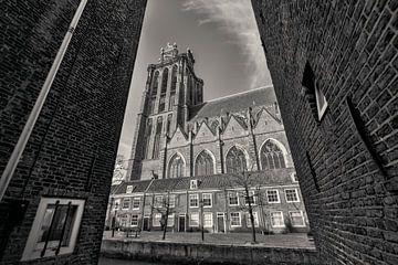 De Grote Kerk Dordrecht van Rob van der Teen