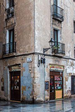 Sfeervol Barcelona van Violet Johan
