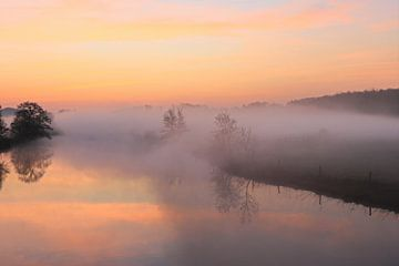Een mooie ochtend in het Ruhrgebied van Bernhard Kaiser