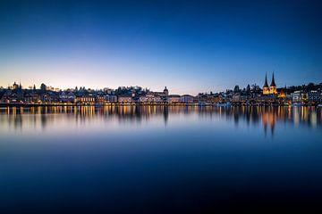 Luzern bei Nacht sur Severin Pomsel