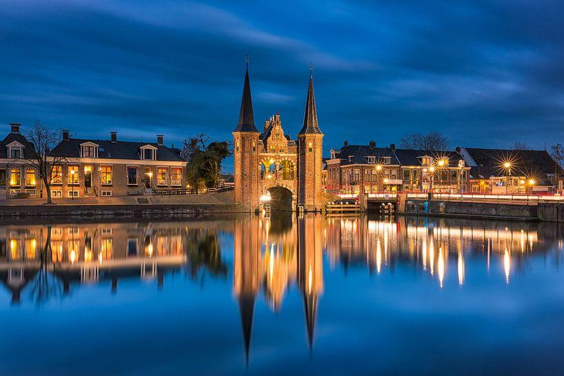 Waterpoort - Sneek, Nederland van Bas Meelker