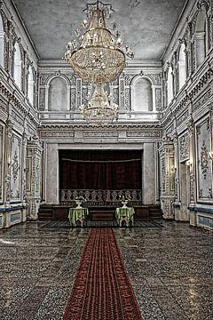 Zaal in Paleis van