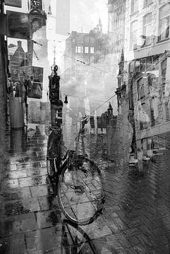 Amsterdam Munttoren vom Rembrandtplein von Marianna Pobedimova