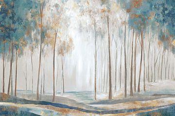 witte stralen, Eva Watts  van PI Creative Art