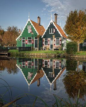 Ferienhäuser in der Nähe der Zaanseschans von Nick de Jonge - Skeyes