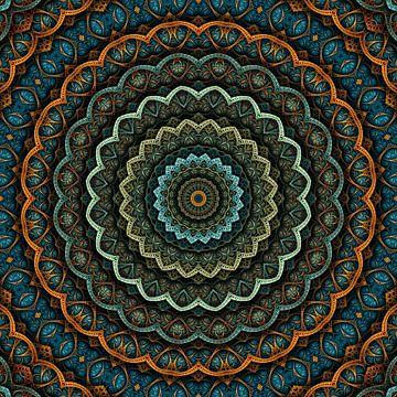Mandala Herbststimmung von Marion Tenbergen