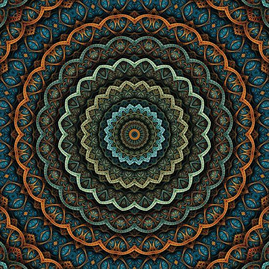 Mandala Herbststimmung