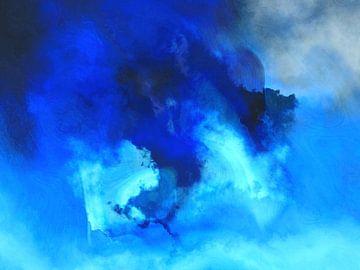 Abstrakte Komposition 08 von Alexandra Kleist