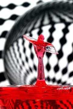 Roter Engel von Herman Peters