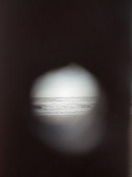 Blick auf das Meer von Evy Bakker
