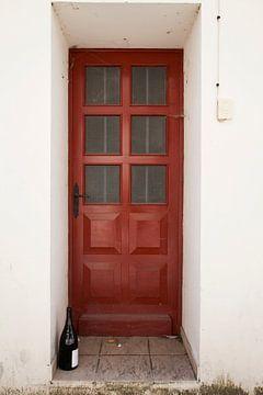 Rode deur, rode wijn von Daan Ruijter