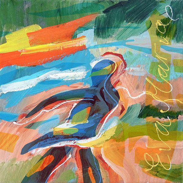 Met de wind mee dansen van Eva van den Hamsvoort