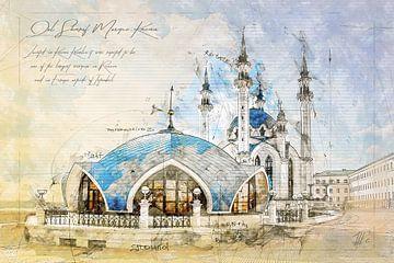 Kul Sharif Moschee, Kazan von Theodor Decker