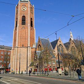 De Grote Kerk in Den Haag van Nationale Beeldbank