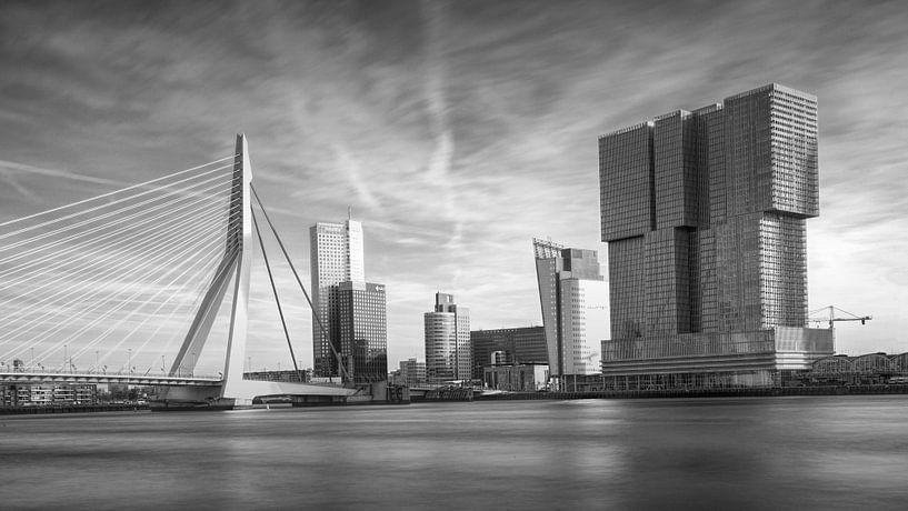 Erasmusbrug Rotterdam van Gerard Burgstede