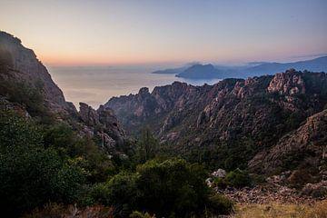 Calanques de Piana, Corsica, Frankrijk sur Rosanne Langenberg