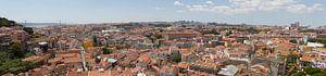 Panorama Lissabon Portugal van