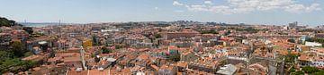 Panorama Lissabon Portugal von Jeroen Meeuwsen