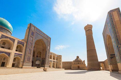 Bukhara Kalan Complex Oezbekistan van