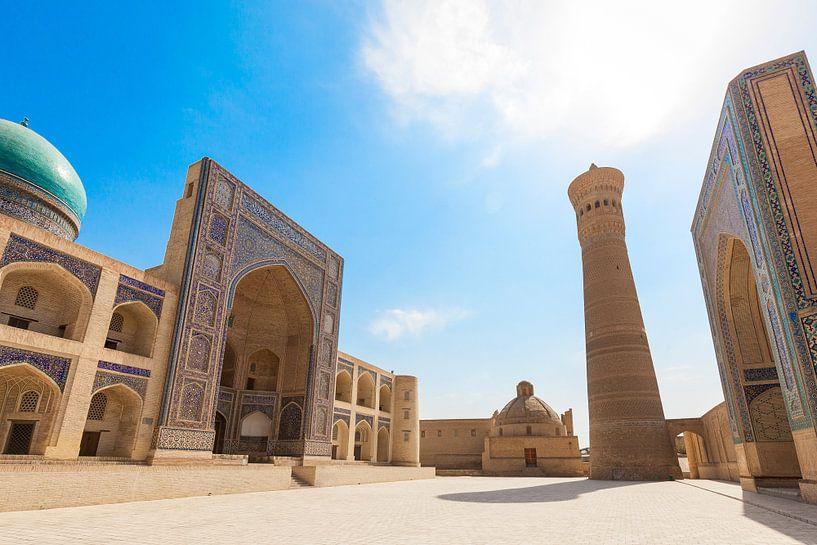 Bukhara Kalan Complex Oezbekistan van Bart van Eijden