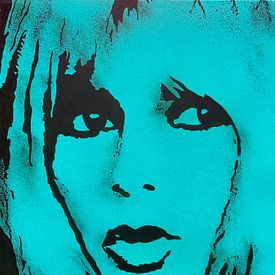 Brigite Bardot - BB sur Kathleen Artist Fine Art