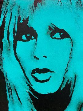 Brigite Bardot - BB von Kathleen Artist Fine Art