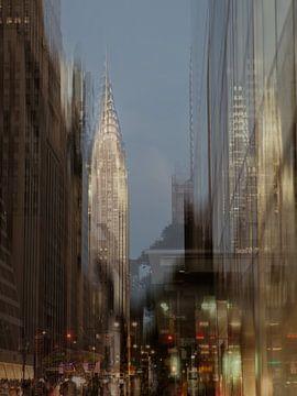 New York Art Chrysler Building van Gerald Emming