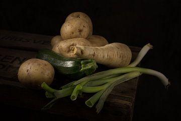 Stilleven van groenten van Eddy 't Jong